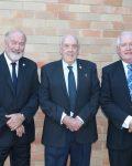 (L-R) Peter Shinton, John Martin, Greg Lamont at Singleton Council - 15 April 2019